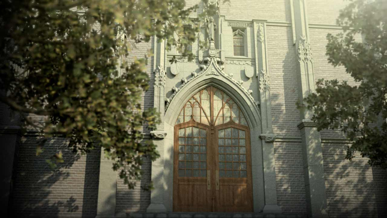 ADJART 3D Artist - UofM Martha Cook Doorway