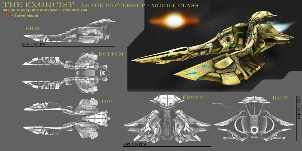 ADJART 3D Artist - Eve Online Design a ship contest